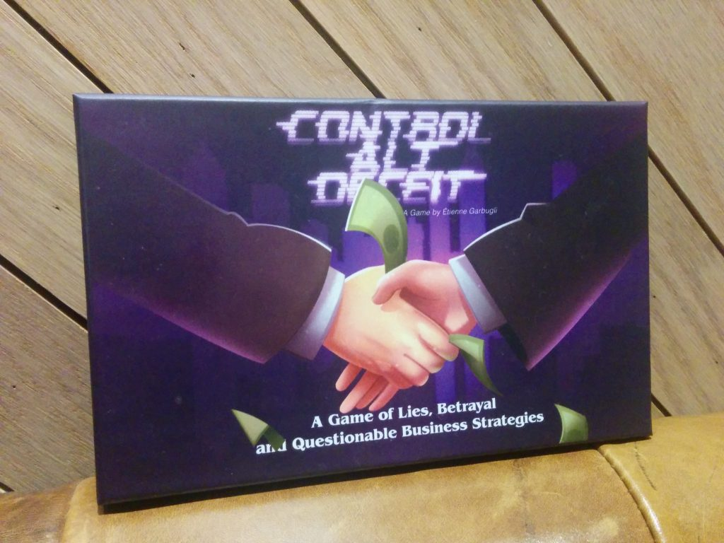 Control Alt Deceit: The First Copy